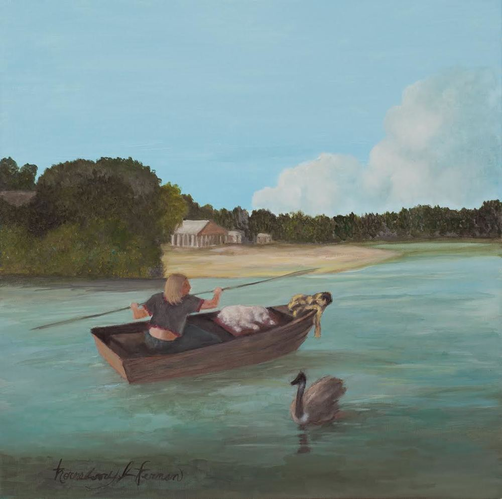 Woman in a Rowboat