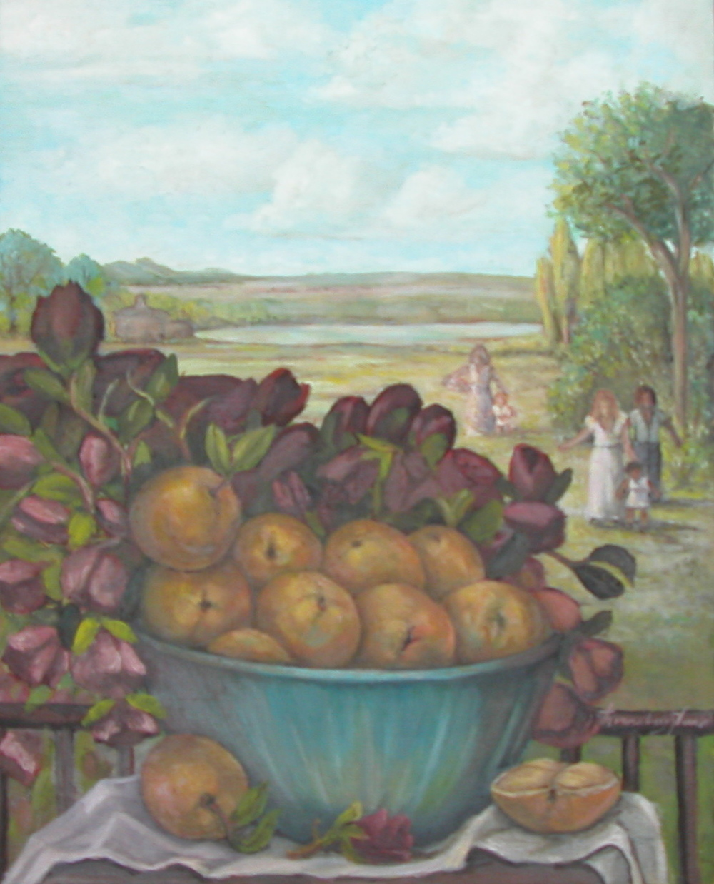 Oranges and Roses
