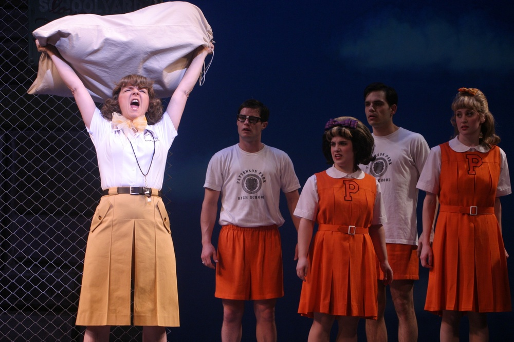 With Darren Voros, Alison Smyth, Michael Torontow in  Hairspray , Mirvish, 2004.