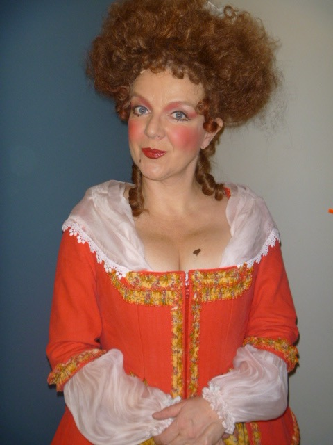 As Mrs. Fezzywig in  A Christmas Carol , Theatre Aquarius, 2010.