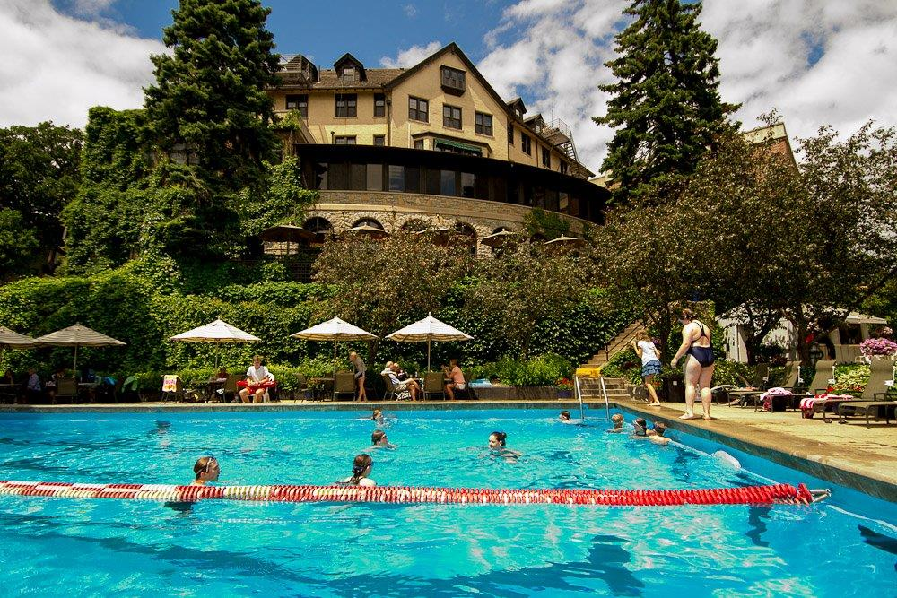 swimming pool, st. paul university club