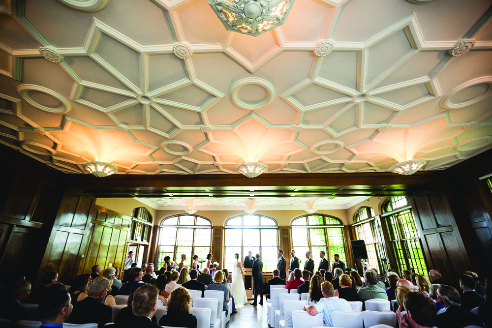 summit room, wedding, university club, st. paul