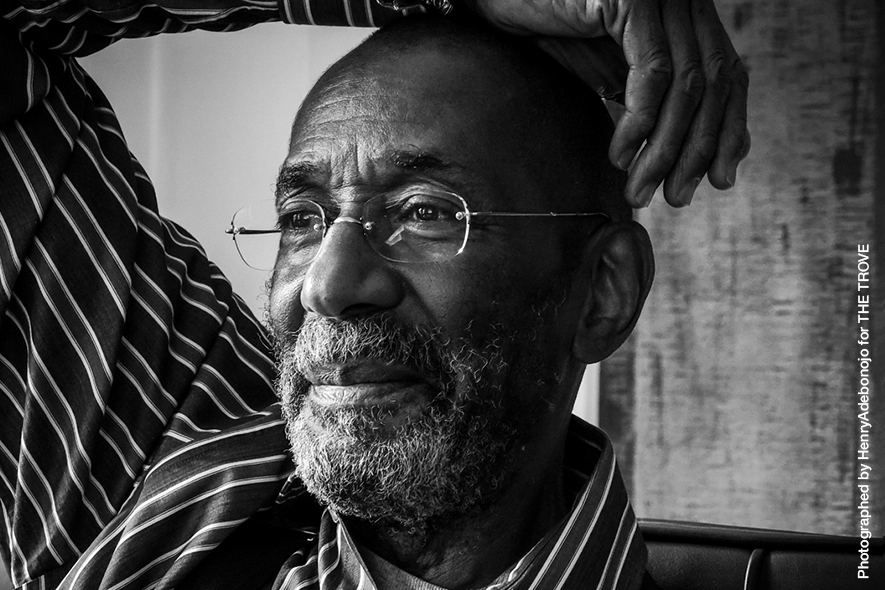 Ron Carter photographed by  Henry Adebonojo.