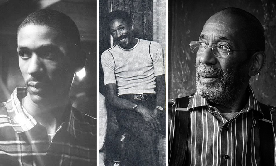 Ron through the years. Left photo, Eastman days. Center photo in July 1973 at Lotos Club, NYC by  Steve Salmieri . Right photo by  Henry Adebonojo .