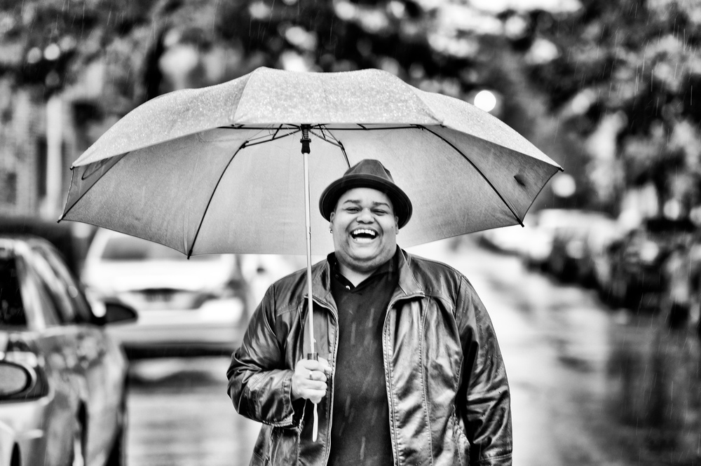 Toshi Reagon photographed by  Frederick V. Nielsen .