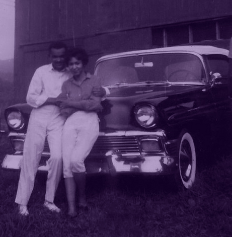 One of the tangible things I hold most dear is this photograph of my parents posing before a vintage car, long before my sister and I were even a thought. May they rest in peace.