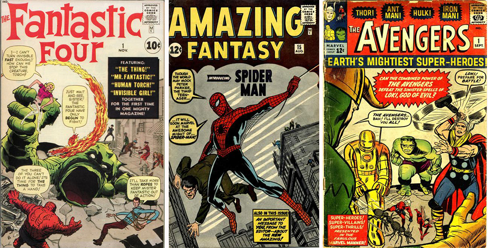 Comics of the Marvel Silver Age.