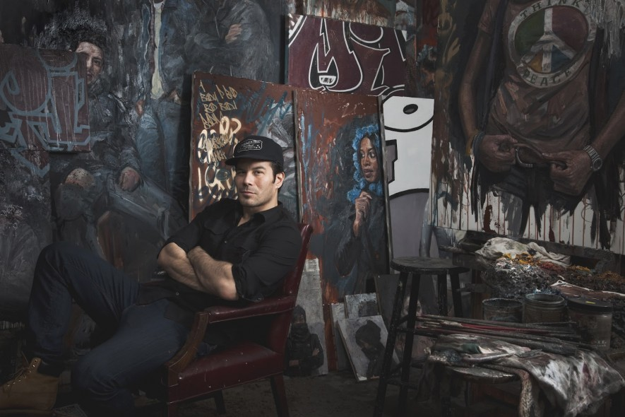 Tim Okamura photographed by Rene Cervantes.
