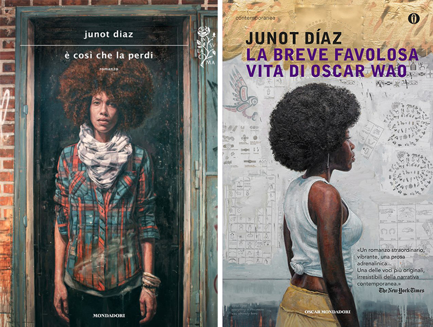 "Two of his works have been utilized for the Italian translations of the Junot Diaz books, ""This Is How You Lose Her"" and ""The Brief Wondrous Life of Oscar Wao."""