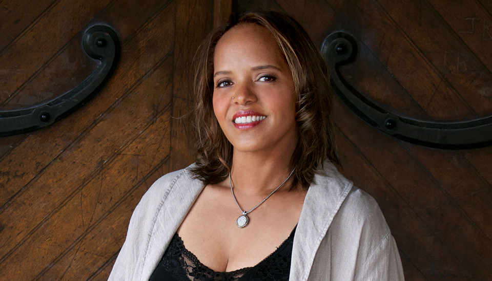 Terri Lyne Carrington photographed by Tracy Love.