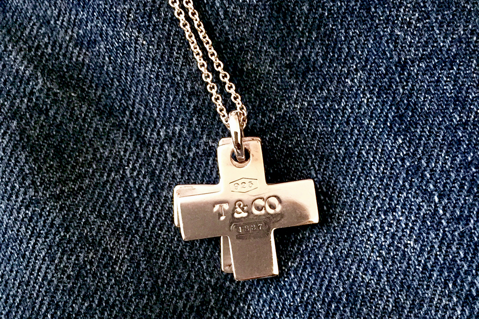 Clay's cherished  Tiffany & Co . sterling crosses are emblematic of his faith for sure, but they also represent clean, classic design.