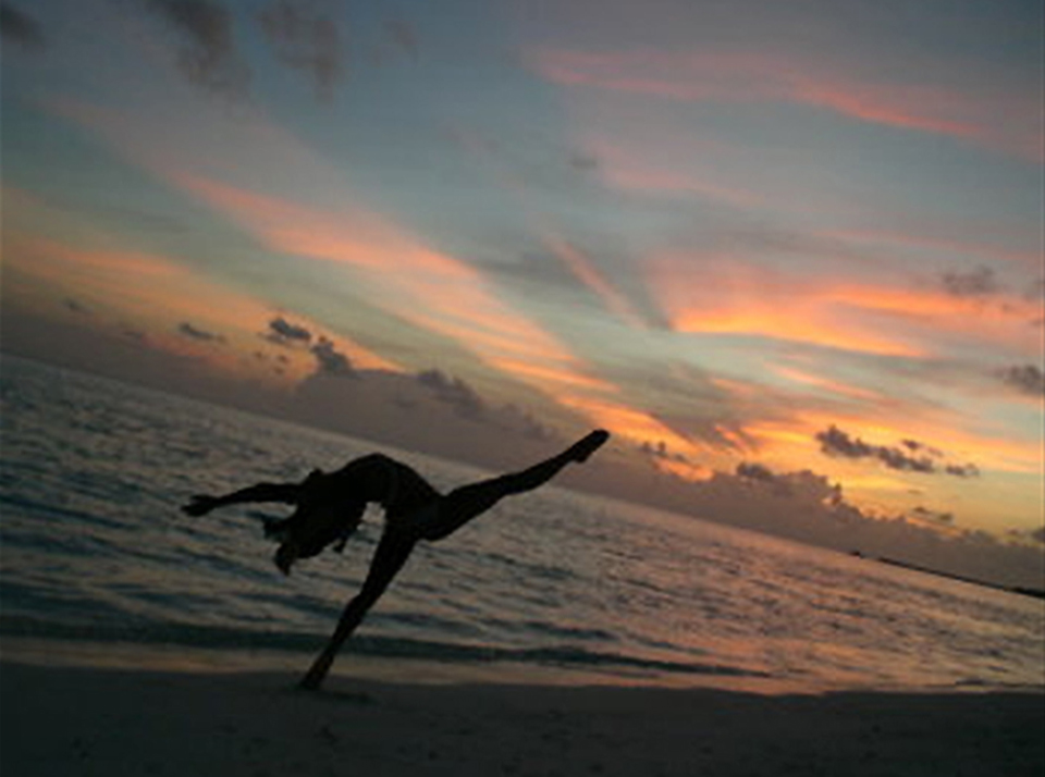 Holiday Island, the Maldives.