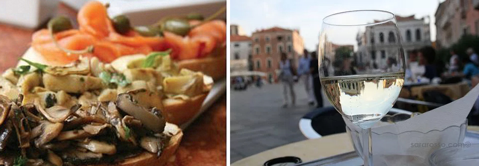 """""""No matter where I am, I rarely have a night without an aperitivo.""""  Wine photo by  Sara Rosso ."""