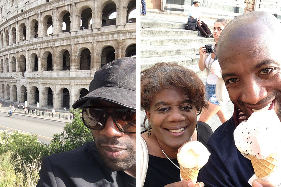 Ah, Roma.   Gelato con Mamma.  Photos courtesy of Jeremiah Abiah.