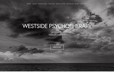 Website for Westside Psychotherapy, a therapy group in in Madison, WI
