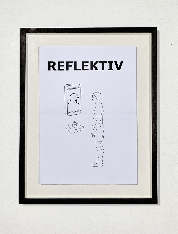 Unfound object IX (Reflektiv)