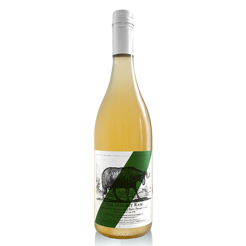 Skin-Fermented Sauvignon Blanc - Aromas of nectarines, citrus oils and Asian spices are married with a salty, richly textured palate that is underpinned by tight fine phenolics