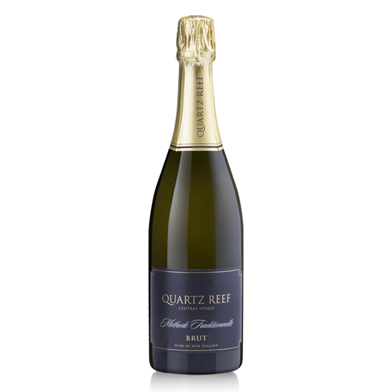 Quartz Reef Methode Traditionelle Brut NV - Royal gala apple with a hint of lime and brioche.