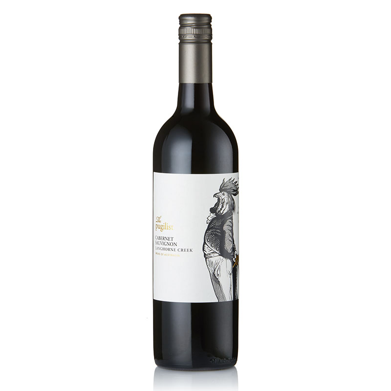 THE PUGILIST CABERNET SAUVIGNON - violets, oregano and thyme, along with black cherry aromas, earthiness, toasted spices and lovely dried herb characters.