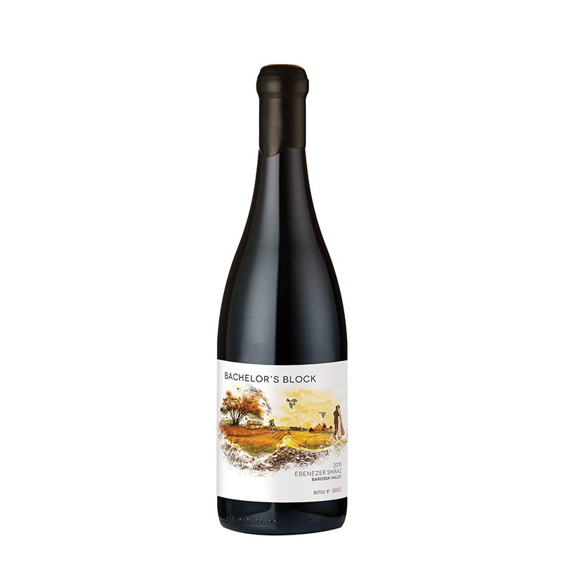 The Bachelor's Block Ebenezer Shiraz - a wine of taut power, finesse and savoury freshness