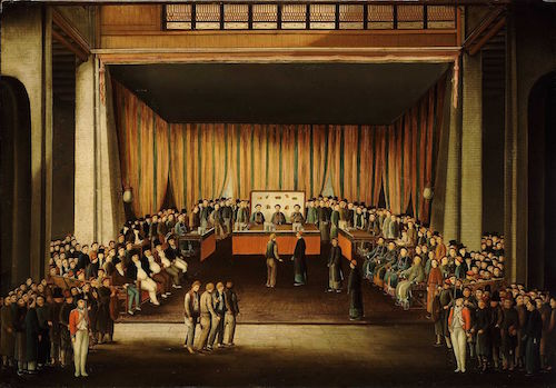 Trial of Four British Seaman at Canton. 1807.