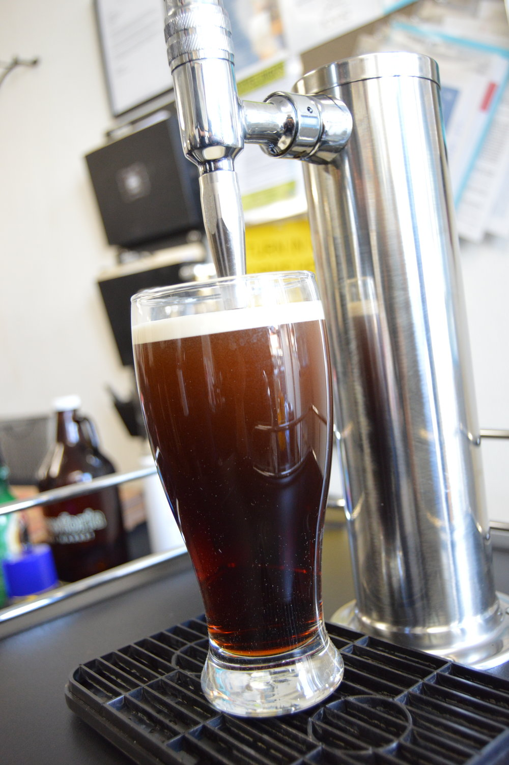 nitro cold brew coffee by the keg