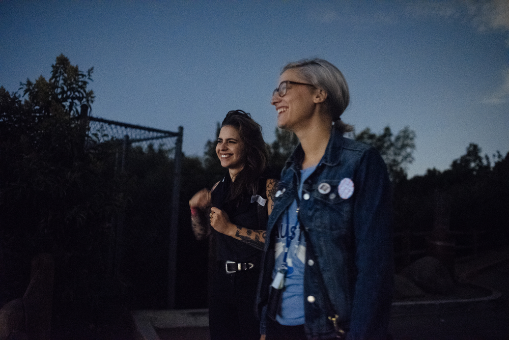 Kiley and Danielle | above Los Angeles