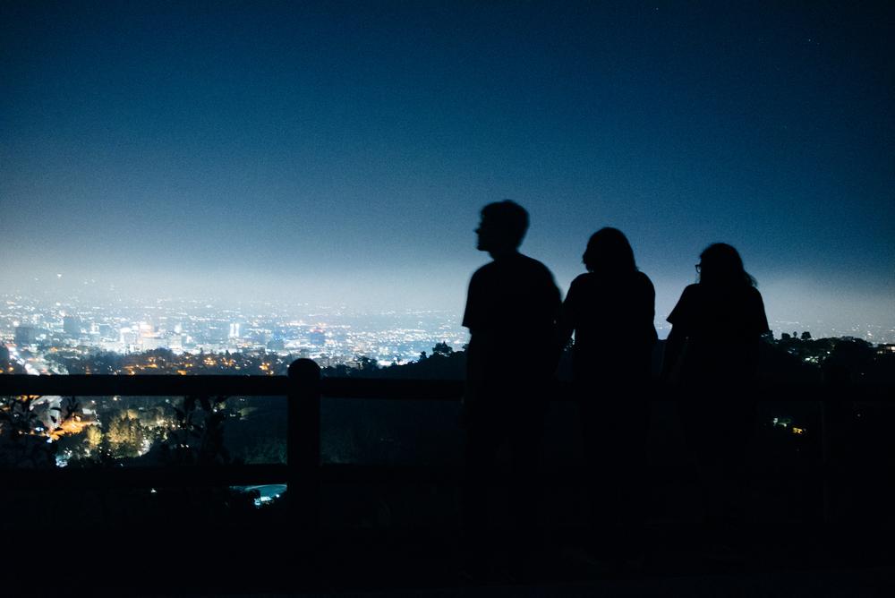 shadows | above Los Angeles