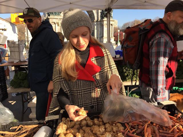 jenee sais quoi_nua_cape_winter style_vintage cape_farmers market