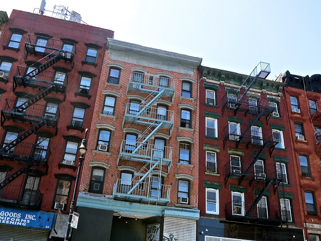 Lower East Side, New York City, Apartment Buildings