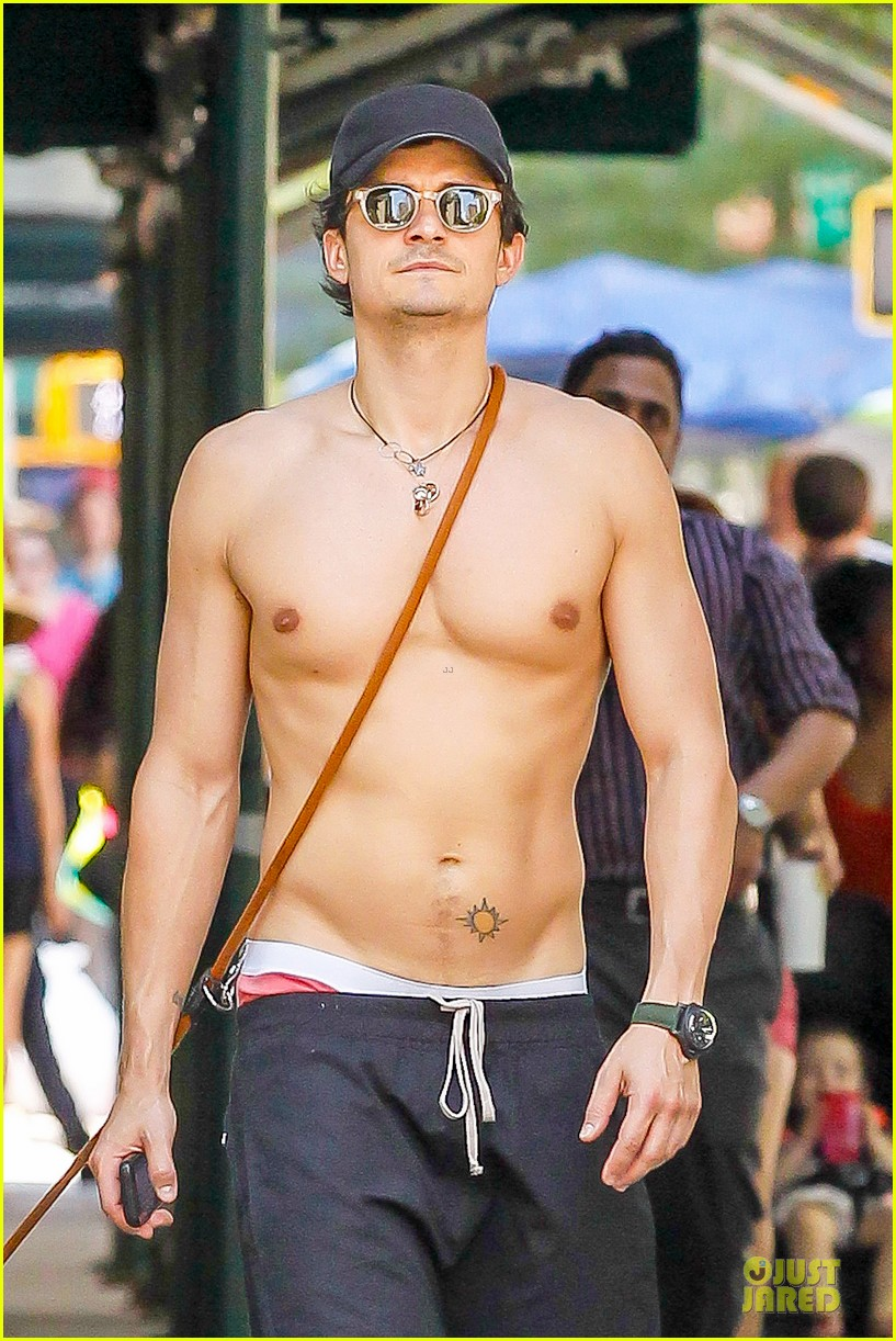 Orlando Bloom Shirtless, Heatwave