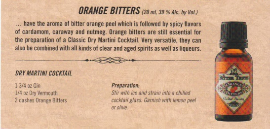 orange bitters, cocktail recipe, dry martini cocktail