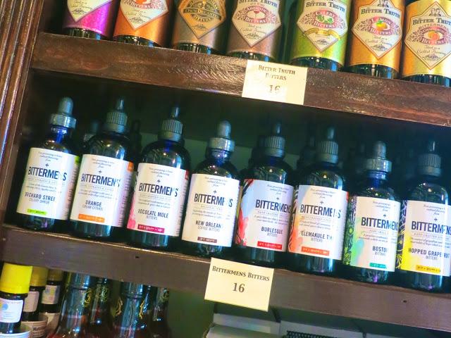 bitters, liquor store