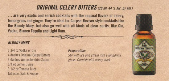 celery bitters, cocktail recipe, bloody mary