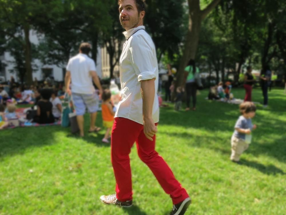 Joe Fresh Red Pants