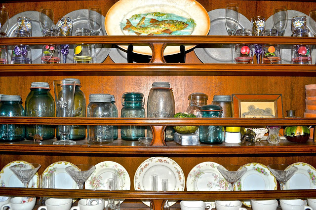 country style china cabinet