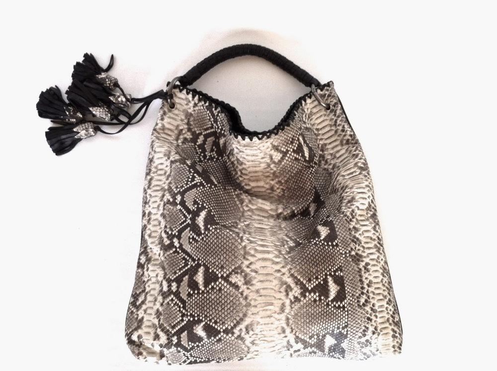 anthony luciano, handbag, python, exotic, fashion