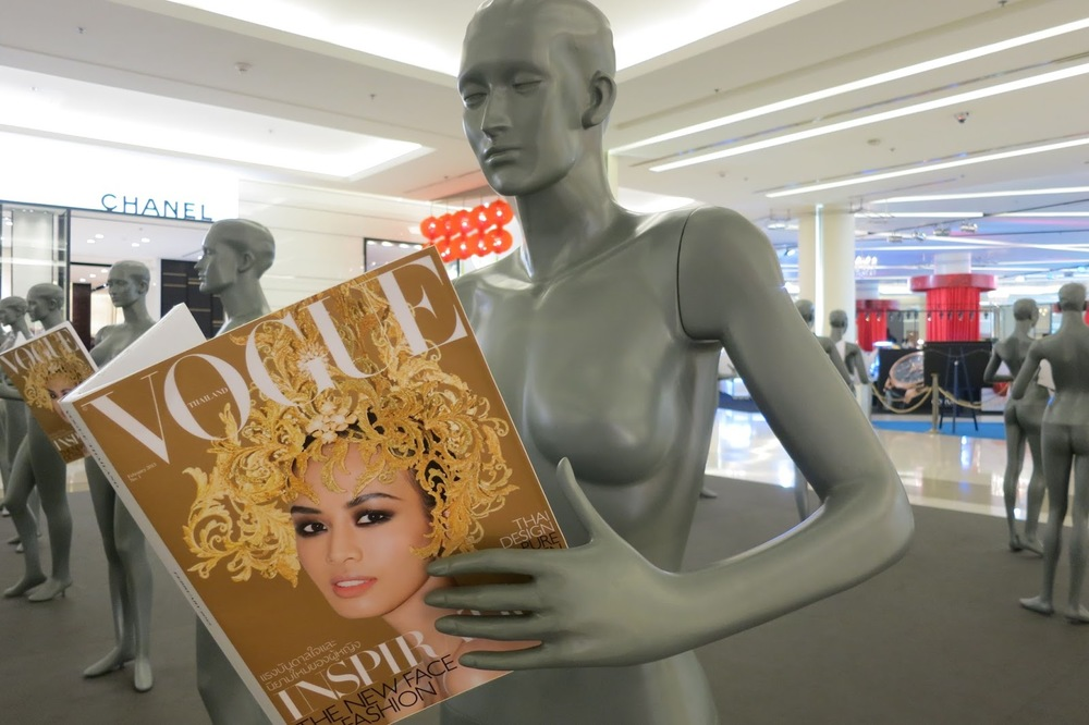 MANNEQUIN READING THAILAND VOGUE