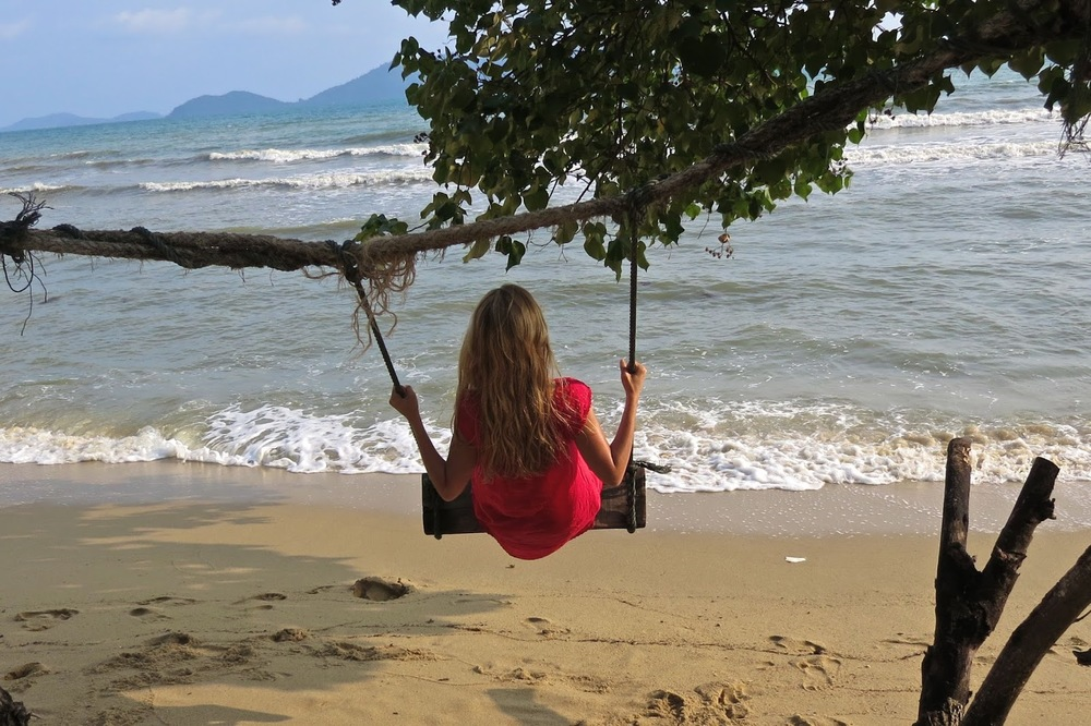 Beach Swing in Thailand