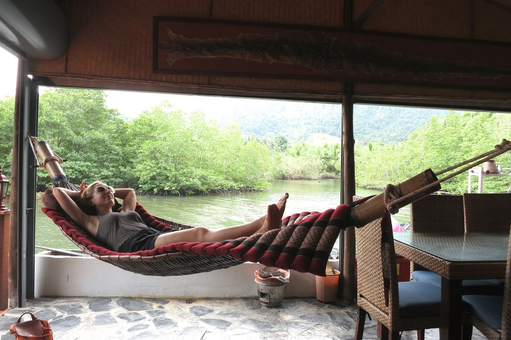 Hammock Lounging in Thailand