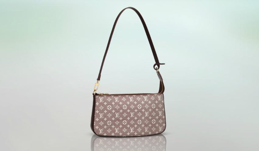 clutch, handbag, pouchette, LV
