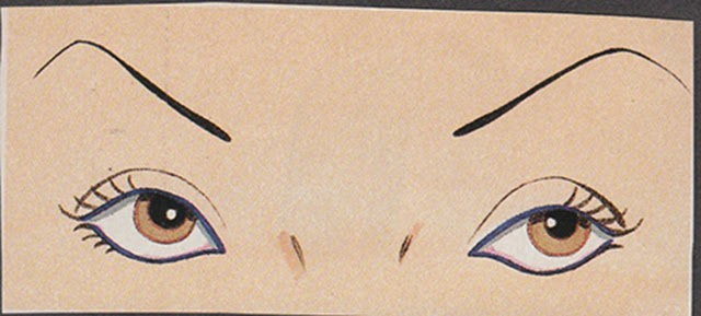 illustration_eyes_eyebrows_eye illustration