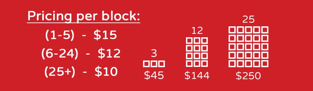 shiner pricing