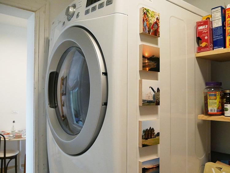 Washing machine? Yes. -