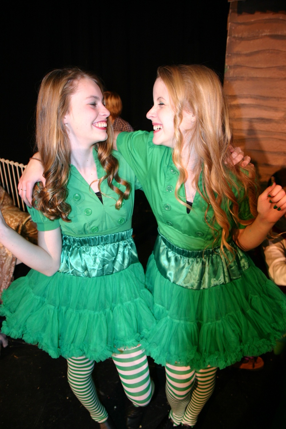 The Emerald City Girls (Emma Chandler and Gigi Cowherd)