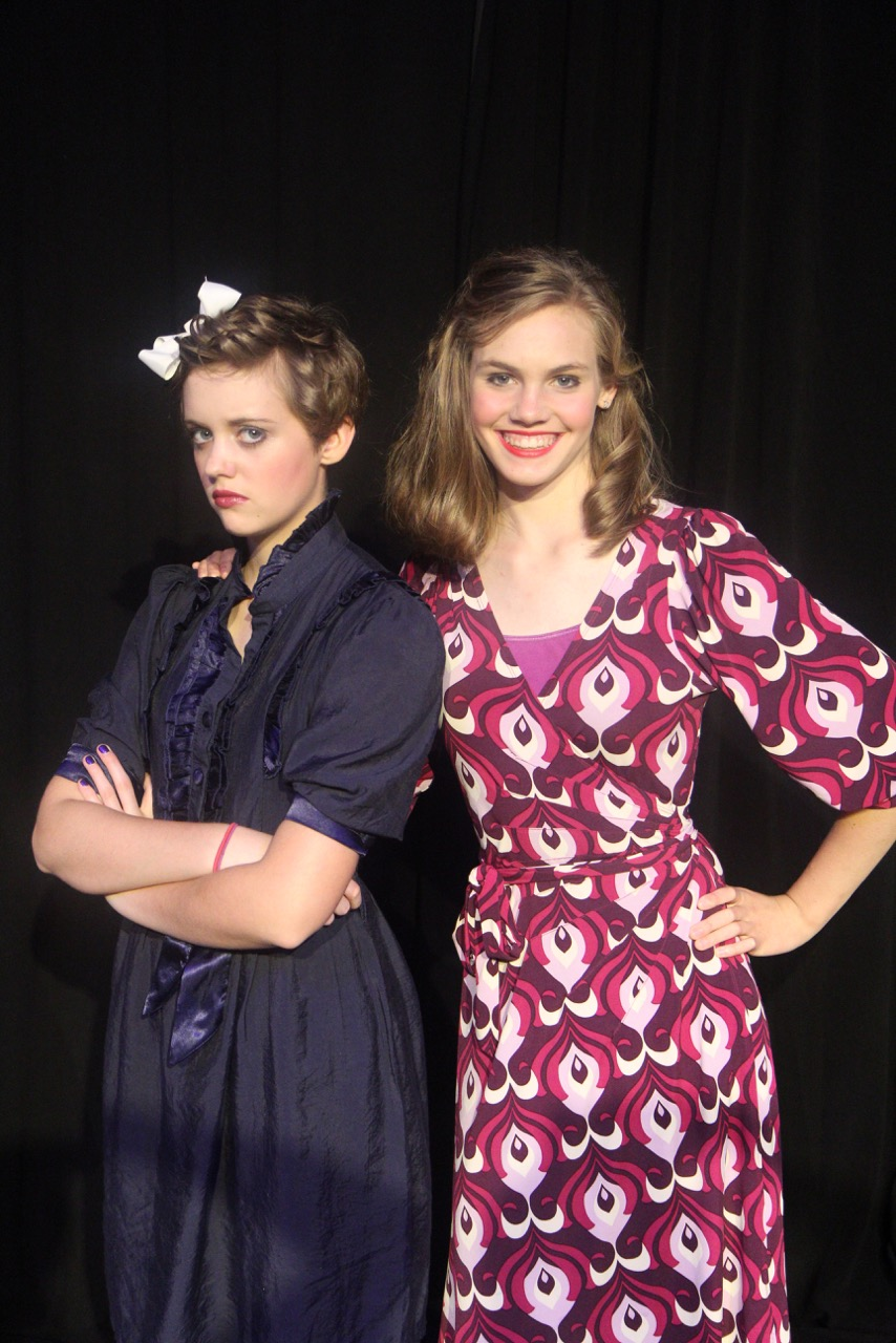 Violet Beuregarde (Emily Cowherd) and Mrs. Beuregarde (Elaine George)