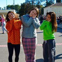 BHS dress up for pajama day earlier this year