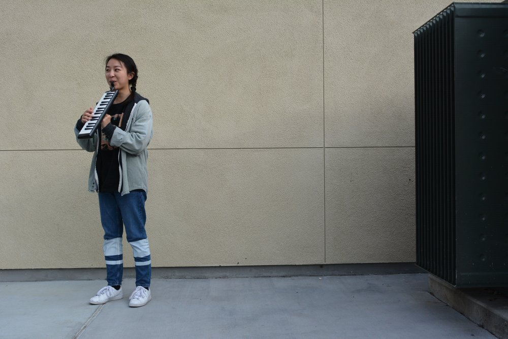 Dara Phung often plays the melodica in her free time.