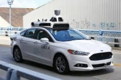 Photo courtesy of Chicago Tribune  Pictured is one of Uber's fully autonomous cars from the pilot Pittsburgh program.