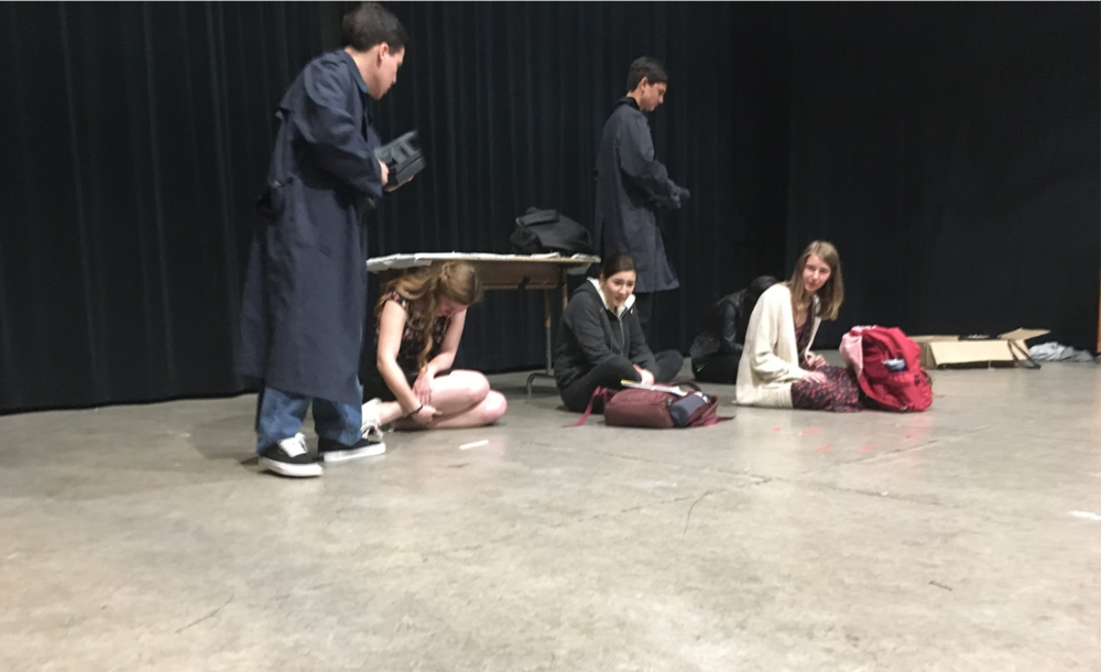 Columbinus , a Contemporary Dramatic one-act play made it to finals. The play is based on the Columbine school shooting.